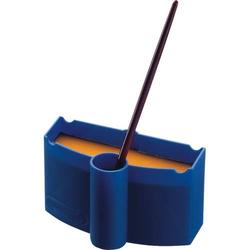 Wasser-Box für Deckfarbkästen blau