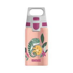 Sigg Trinkflasche Edelstahl-Trinkflasche SHIELD ONE Space, 500 ml rosa