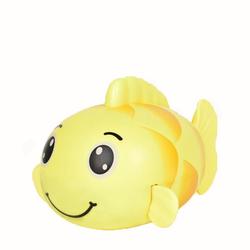 kueatily Badewannenspielzeug Kinder Karpfen Spielzeug Uhrwerk Wicklung Baby Baby Sommerbad Bad Schwimmspielzeug Badespielzeug gelb