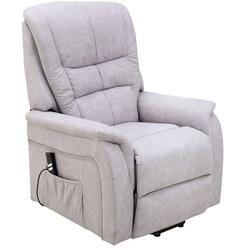 bv-vertrieb TV-Sessel TV-Sessel Fernsehsessel Aufstehhilfe Seniorensessel Herz-Waage-Funktion, TV-Sessel Fernsehsessel Aufstehhilfe Seniorensessel Herz-Waage-Funktion - (4054) grau