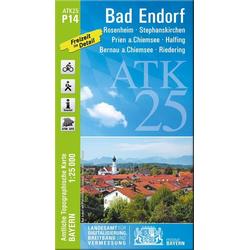 Bad Endorf 1 : 25 000