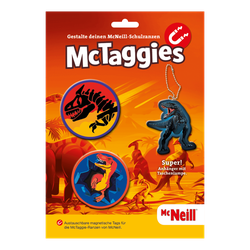 McTaggies Dino 3tlg. Set