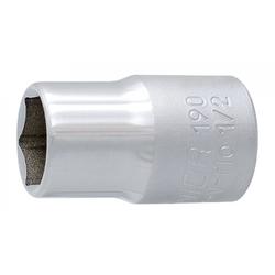 Unior Fahrradwerkzeugset Sechskantsteckschlüssel Unior 1/2' 17mm, 190/1 6p