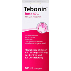 TEBONIN forte 40 mg Lösung 100 ml