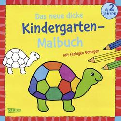 Das neue, dicke Kindergarten-Malbuch