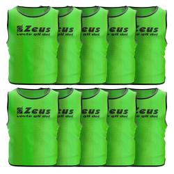 Zeus 10 szt. Śliniak treningowy, neon zielony - Kinder