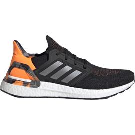 adidas Ultraboost 20 M core black/grey three/signal orange 42