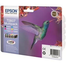 Epson T0807 Multipack Color