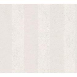 living walls Vliestapete OK, Streifen, gestreift grau
