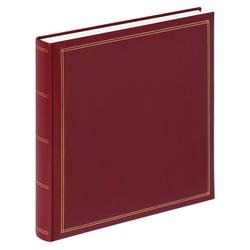 Walther Fotoalbum Monza Album (1-St) rot 34 cm x 35 cm