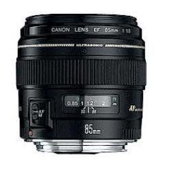 Canon EF 85mm 1:1,8 USM Objektiv - 58 mm Filtergewinde