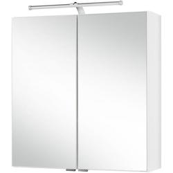 HELD MÖBEL Spiegelschrank Turin Breite 60 cm, mit LED-Aufbauleuchte