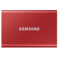 Samsung Portable T7 2TB USB 3.2 rot (MU-PC2T0R/WW)