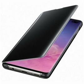Samsung Clear View Cover EF-ZG975 für Galaxy S10+ schwarz