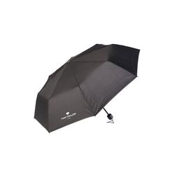 TOM TAILOR Taschenregenschirm Extra kleiner Regenschirm schwarz