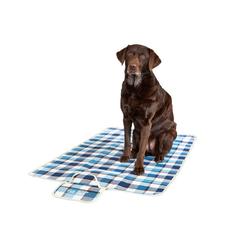 Pets Club Tierdecke Hundedecke Schutzdecke Hund Auto Kofferraumdecke blau