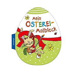 Mein Osterei-Malblock - Buch