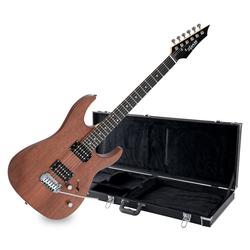 Shaman HX-100 E-Gitarre Satin Walnut Set inkl. Koffer