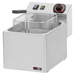 GGG Elektro-Fritteuse 270 x 420 x 300 mm Edelstahl 7-8 L 3 kW FE07E
