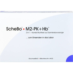 SCHEBO M2-PK+Hb 2in1 Kombi-Darmkrebsvorsorge Test 1 P