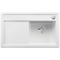 Blanco Zenar 45 S-F rechts weiß + Excenterbetätigung + InFino + Glasschneidbrett