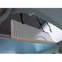 Sicherheitsnetz starr für Alkoven 106x35 cm mit Gurtschloss