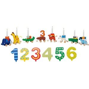 EXKLUSIVER AKTIONSPREIS NUR BEI BILLIGER: GOKI® Geburtstagskarawane mit Zahlen