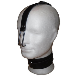 Bondage Leder Halsband mit Nose Hook