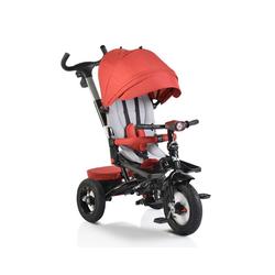 Byox Dreirad Tricycle, Dreirad Jockey, Gummireifen Musik Sitz drehbar Schubstange verstellbar rot