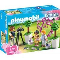 Playmobil City Life Fotograf mit Blumenkindern 9230