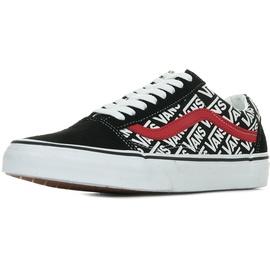 VANS Old Skool black-white-red/ white, 46
