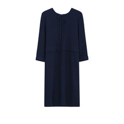 Kleid Schurwolle night blue