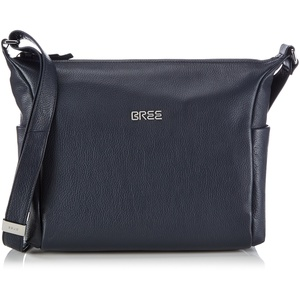BREE Nola 3, grained 206250003 Damen Schultertaschen 35x28x10 cm (B x H x T), Blau (blue 250)