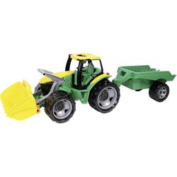 LENA GIGA TRUCKS Traktor mit Schaufel und Anhänger
