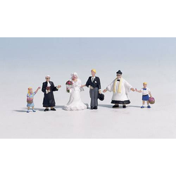 NOCH 15860 H0 Figuren Hochzeit