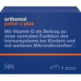 Orthomol Junior C plus Granulat 7 St.