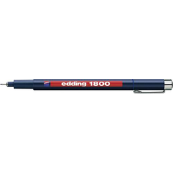 Edding 4-180001003 1800 Fineliner Blau 0.25mm