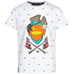 Fortnite Fischstäbchen Kinder T-Shirt 6-050/2697 - 128