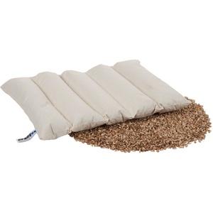 Dinkelwärmeauflage, Dinkelkissen, Wärmekissen, Körnerkissen, Rücken, 55x35 cm