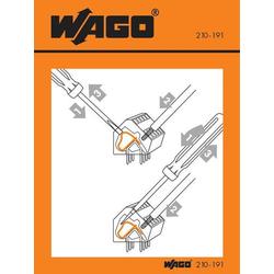 WAGO 210-406 Handhabungsaufkleber 100St.