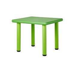 Basispreis* Kindertisch  Kindertisch Grün ¦ grün ¦ Maße (cm): B: 62 H: 50 T: 62