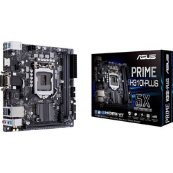 Asus PRIME H310I-PLUS R2.0 Mainboard Sockel Intel® 1151 Formfaktor Mini-ITX Mainboard-Chipsatz Inte