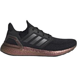 adidas Ultraboost 20 M core black/core black/signal pink/coral 44 2/3