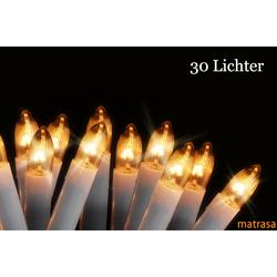Kerzenlichterkette - Lichterkette Kerzenbeleuchtung - 30 Kerzen