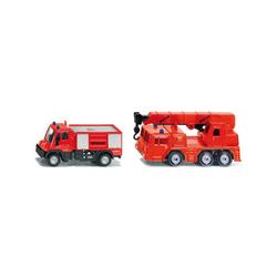 Siku Spielzeug-Auto SIKU 1661 Feuerwehr- Set