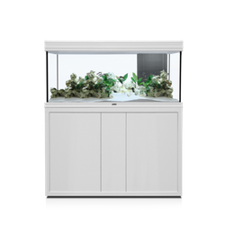 Aquatlantis FUSION LED 2.0 Aquarium Kombination, Fusion 120x40 weiß