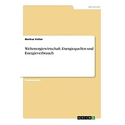 Weltenergiewirtschaft. Energiequellen und Energieverbrauch. Markus Vetter  - Buch