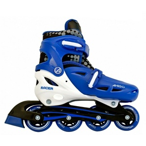 Amigo Racer Inlineskates 30-37 Inline Skates Kinder Rollschuhe Blau Gelb Rosa