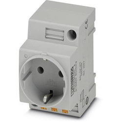 Phoenix Contact Schaltschrank-Steckdose EO-CF/PT Grau 1St.