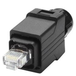 Siemens Ind. Ethernet RJ45 Plug pro, Push Pull IP65 Stecker zur vor Ort Montage Ind. Ethernet RJ4 6G